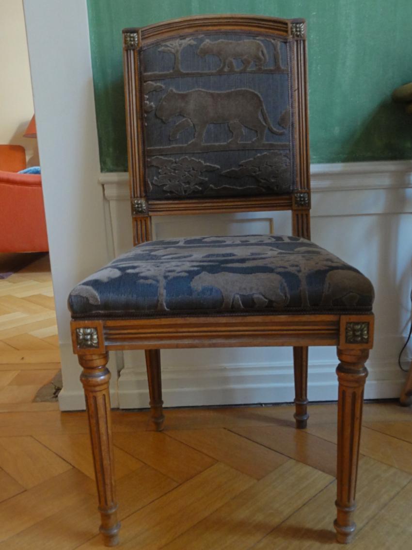empire stil stuhl antik f r 180. Black Bedroom Furniture Sets. Home Design Ideas